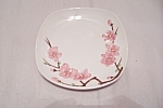 Click here to enlarge image and see more about item BG00352: Poppy Trail Peach Blossom Pattern Bread & Butter Plate
