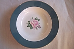 Click here to enlarge image and see more about item BG00362: Lifetime Cameo Rimmed Soup Bowl