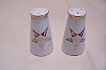 Click here to enlarge image and see more about item BG00388: Occupied Japan Fraternal Salt & Pepper Shaker Set