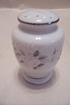 Click here to enlarge image and see more about item BG00394: Fine China Rose Design  Pepper Shaker