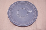 Click here to enlarge image and see more about item BG00399: Fiesta Periwinkle Blue Saucer