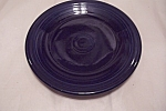 Click here to enlarge image and see more about item BG00600: Fiesta - Sapphire Blue Dinner Plate