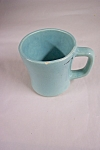 Click here to enlarge image and see more about item BG00407: McCoy Turquoise Green Mug