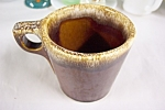 Hull Brown Drip Pattern Mug