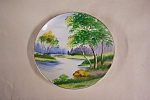 Click here to enlarge image and see more about item BG00443: Occupied Japan Handpainted Collector Plate