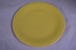 Homer Laughlin Fiesta Yellow Plate