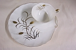 Click here to enlarge image and see more about item BG00464: Lefton Handpainted Snack Plate & Teacup
