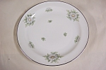 Click here to enlarge image and see more about item BG00465: Krutheim Silver Thistle Salad Plate