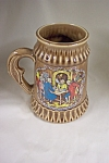 Click here to enlarge image and see more about item BG00477: McCoy Pottery Schlitz Beer Stein #6029