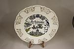 Click here to enlarge image and see more about item BG00500: Arkansas Collector Plate