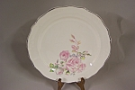 Click here to enlarge image and see more about item BG00505: Chatham China Rose Design Collector Plate