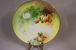 Click to view larger image of Limoges Handpainted Collector Plate (Image1)