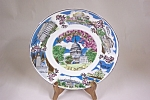 Occupied Japan Washington, DC Collector Plate