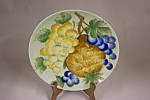 Handpainted Still Life Collector Plate