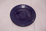 Click here to enlarge image and see more about item BG00601: Fiesta - Sapphire Blue Salad Plate