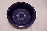 Click here to enlarge image and see more about item BG00602: Fiesta - Sapphire Blue Gusto Bowl