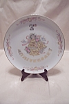 Click here to enlarge image and see more about item BG00620: LEFTON  China Second Wedding Anniversary Plate