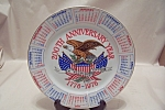Click here to enlarge image and see more about item BG00622: 200th Anniversary Year 1776-1976 Collector Plate