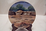 Click here to enlarge image and see more about item BG00639: Occupied Japan Yellowstone Park Collector Plate