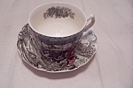 Click here to enlarge image and see more about item BG00645: Johnson Brothers Tally Ho Cup & Saucer