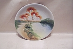 Click here to enlarge image and see more about item BG00646: Vintage Handpainted Occupied Japan Collector Plate