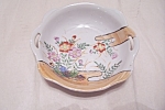 Click here to enlarge image and see more about item BG00665: Occupied Japan Handpainted Shallow Bowl