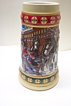 Click here to enlarge image and see more about item BST0001: Budweiser Beer Stein - Hometown Holiday (1993)