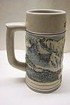 Click to view larger image of Coors Pottery Rocky Mountain Series  Beer Stein (1991) (Image1)