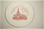Click here to enlarge image and see more about item CP022: First Methodist Church, Corsicana, Texas Plate