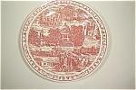 Click here to enlarge image and see more about item CP027: New Mexico Collector Plate (Vernon Kilns)
