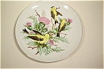 Hand-Painted Birds Collector Plate