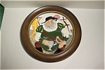 """Click here to enlarge image and see more about item CP033: Toby """"Falstaff"""" Collector Plate With Holder"""