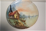 Click here to enlarge image and see more about item CP035:  Limoges Hand-Painted Collector Plate