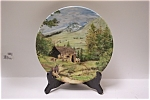 Click here to enlarge image and see more about item CP047: Promenade dans les Alpes Collector Plate