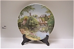 Click here to enlarge image and see more about item CP050: Une journee au bord de l'eau Collector Plate