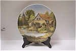 Click here to enlarge image and see more about item CP054: Vieux moulin a eau en Alsace Collector Plate