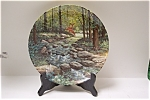 Click here to enlarge image and see more about item CP055: The Murmuring Stream Collector Plate