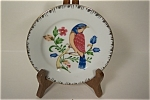 Hand Painted Blue Bird Collector Plate