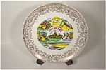Click here to enlarge image and see more about item CP091: Arkansas Souvenir Collector Plate