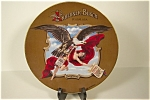 """Click here to enlarge image and see more about item CP101: Budweiser """"Ganymeade"""" Collector Plate"""