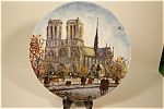 Click here to enlarge image and see more about item CP109: La Cathedralle Notre Dame Collector Plate