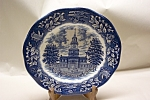 Click here to enlarge image and see more about item CP125: Avon Independence Hall Bicentennial Plate