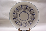 Click here to enlarge image and see more about item CP141: 1964 Advertising Calendar Collector Plate