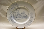 Click here to enlarge image and see more about item CP151: Royal Worcester Anne Hathaway's Cottage Plate