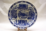 Click here to enlarge image and see more about item CP152: Vernon Kilns Carlsbad Caverns Plate