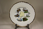 Click here to enlarge image and see more about item CP195: Wildlife Of Alaska Collector Plate