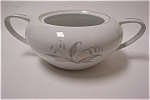 Click here to enlarge image and see more about item JFC0004: Kaysons Golden Rhapsody Fine China Sugar Bowl