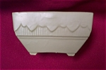 Click here to enlarge image and see more about item MCP0002: Brush McCOY Floraline Planter/Square Bowl
