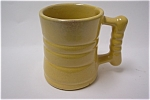 Click to view larger image of Yellow Frankoma Mug (Image1)