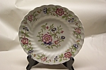 "Click here to enlarge image and see more about item PPFC001: Franciscan Mandarin Pattern 7-3/4"" Salad Plate"
